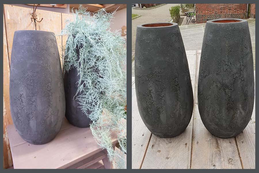Verkoop potten door kadoshop 't Huussie
